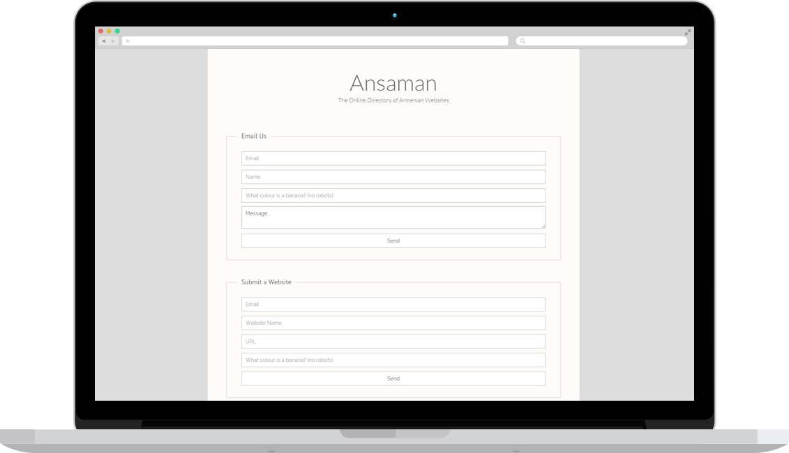 Ansaman Armenian Website